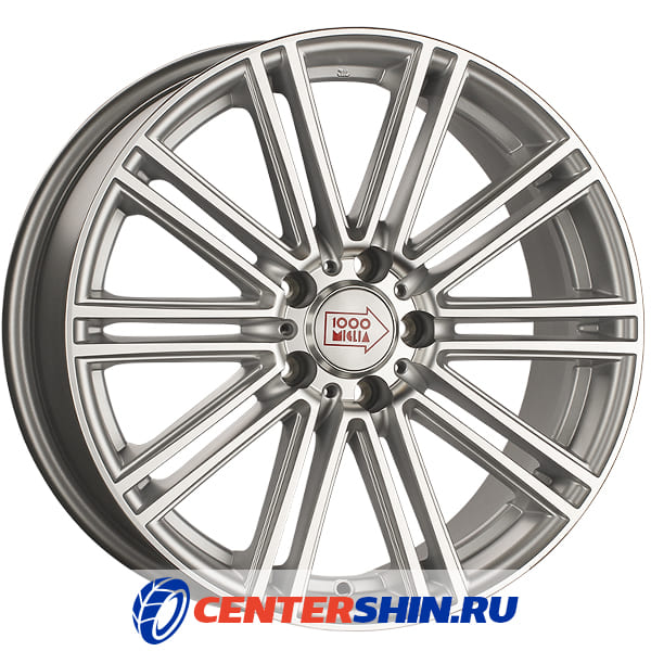 Колесный диск 1000 MIGLIA MM1005 7.5х17/5х112 D66.6 ET45 Silver High Gloss