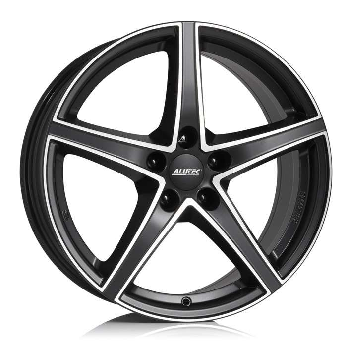 Колесный диск Alutec Raptr 8,0x18 5/112 ET45 d-70,1 Racing Black Front Polished (RR80845B73-5) MP