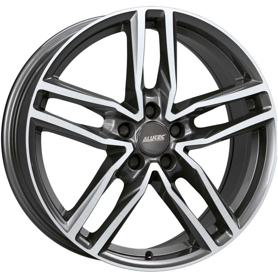 Колесный диск Alutec Ikenu 8,0x18 5/112 ET45 d-70,1 Graphite Front Polished (IKE80845B72-9) MP